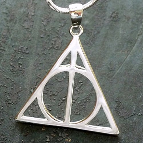 Harry Potter Deathly Hallows 925 Silver Charm