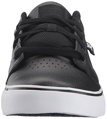 DC Men's Anvil SE Skate Shoe, Black, 9.5 D US