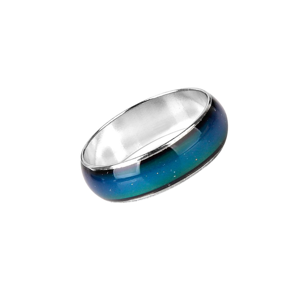 Emotion Feeling Mood Changeable Color Ring US Size 5