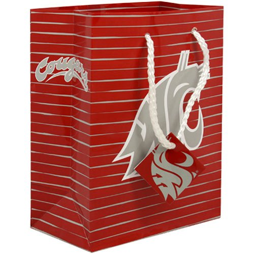 - Football Fanatics NCAA Washington State Cougars Small Team Logo Gift Bag