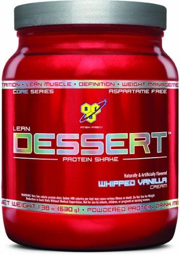 BSN Lean Dessert Protein, Whipped Vanilla Cream 1.38 Pound