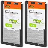 Zilla 2 Pack of Fresh Air Screen Covers, 12-Inch