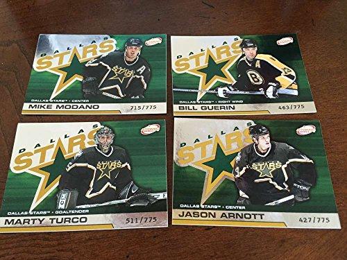 2002-03 Pacific Atomic Hobby Dallas Stars Team Set Rare 4 Cards ()