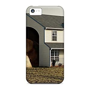 BIKTQRU52hJXtf Jamesmeggest Awesome Case Cover Compatible With Iphone 5c - Dog House
