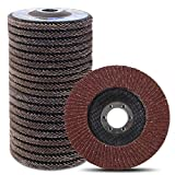 Coceca 20pcs Flap Discs Sanding Grinding Wheels