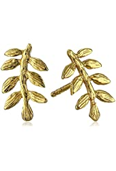 "gorjana ""Olympia"" Gold-Plated Stud Earrings"