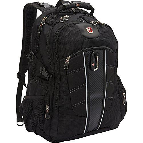 Swiss Gear SA1753 Black TSA Friendly ScanSmart Laptop Backpa