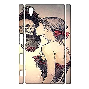 Sony Xperia Z5 Exquisite Special 3d Protective Case Skull Girl Print Phone Case for Sony Xperia Z5
