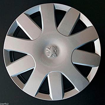 """One New 15/"""" Wheel trim for Peugeot 208 308 15 This Sale Is For One Wheel Trim If You Require a Set Please Change Quantity To 4"""