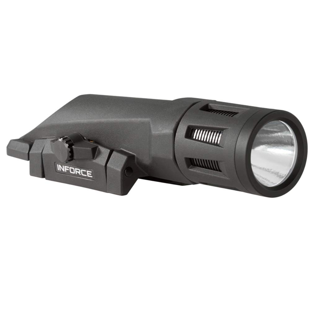 Inforce WMLx Gen 2 Weapon Mount Tactical Light 800 Lumens Bundle with 2 Extra Energizer CR123 Batteries and a Lightjunction Battery Case by InForce (Image #3)