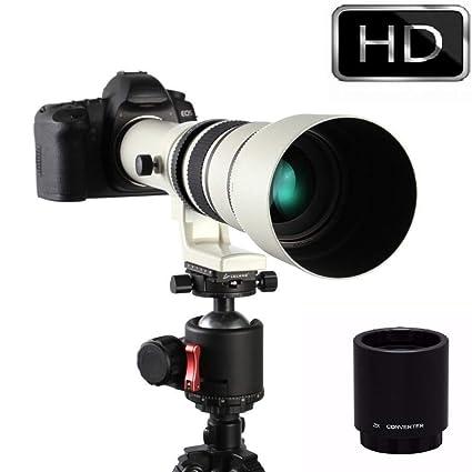 Jintu - Lente de Zoom para cámara Digital Canon T6s, T6i, T5i, T4i ...