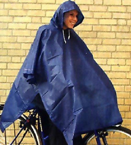 Regencape Fahrradponcho Regenponcho Regenumhang waschbar bis 20°