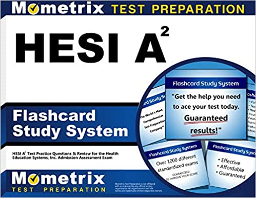 Hesi A2 Flashcard Study System Hesi A2 Test Practice Questions