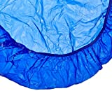 Kwik-Cover 48PK-B 42-48'' Round  Kwik-Cover - Blue Fitted Table Cover(1 full case of 50)