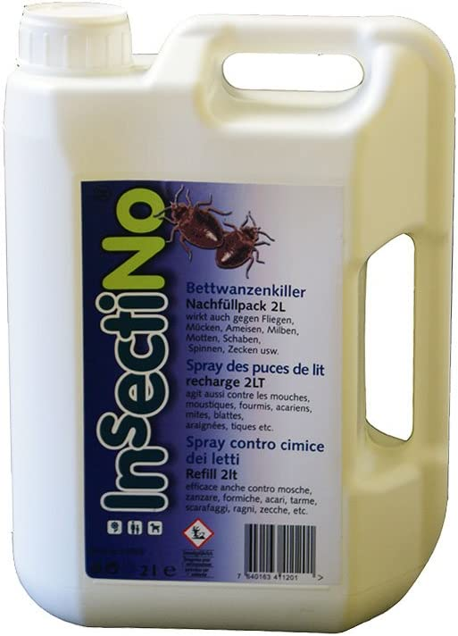 INSECTINO Mata Chinches 1 x 2 litros kanister - anti chinches