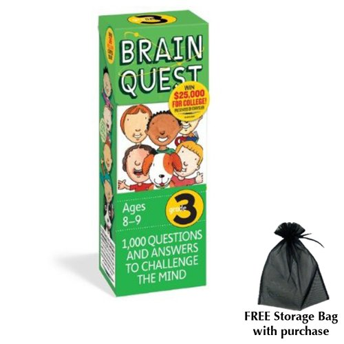 Brain Quest for Grade 3 with free storage