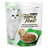 Purina Fancy Feast Dry Cat Food, With Ocean Fish & Salmon - (4) 16 oz. Bags Larger Image