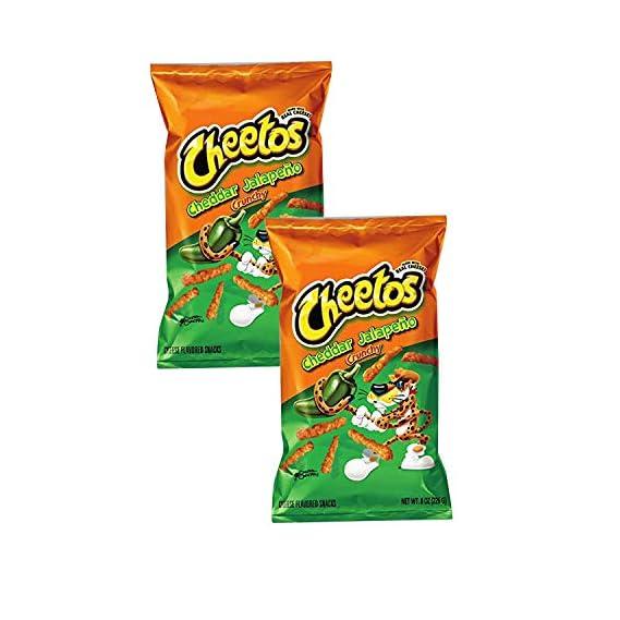 Doritos Cheetos Crunchy Cheddar Jalapeno (Imported), 226.8g (Pack of 2)