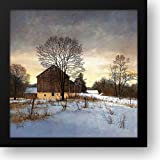 Breaking Light 16x16 Framed Art Print by Hendershot, Ray