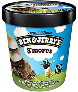 Ben & Jerrys - Vermonts Finest Ice Cream, Non-GMO - Fairtrade - Cage