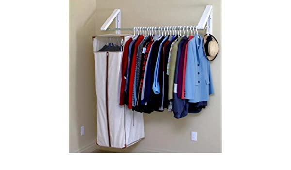 Amazon.com: Arrow Hanger AH3X12 Quik Closet Clothes Storage System: Kitchen  U0026 Dining