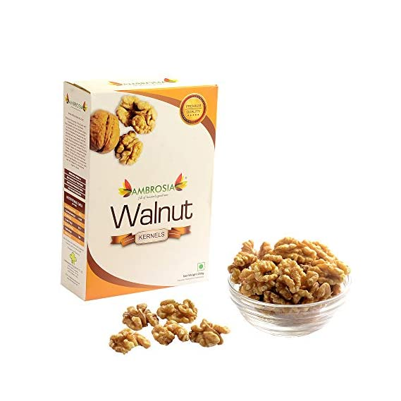 Ambrosia Premium Walnut Kernels 250 gm ( Kashmiri - New Crop)