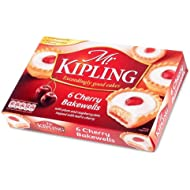 Mr Kipling Cakes - Cherry Bakewells - 6 Pack
