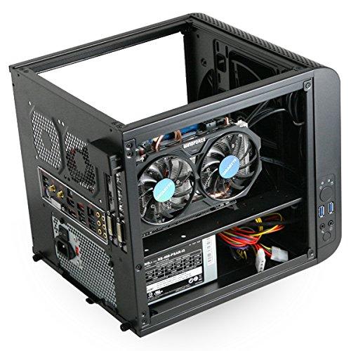 MITXPC Intel Core i7-4790S Gaming PC w/ NVIDIA GeForce GTX 750 Ti, 8GB,128GB SDD