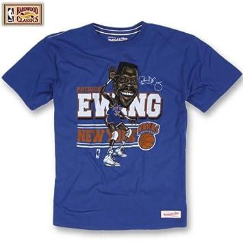 Mitchell & Ness New York Knicks Patrick Ewing caricatura NBA T-Shirt, color ,
