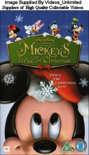 mickeys twice upon a christmas vhs matthew ocallaghan pam marsden amazoncouk video - Mickeys Once Upon A Christmas Vhs