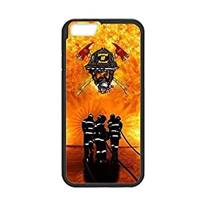 Custom TPU case with Image from Firefighter Medical Rescue Snap-on cover for iphone 6 Plus 5.5 by ruishername