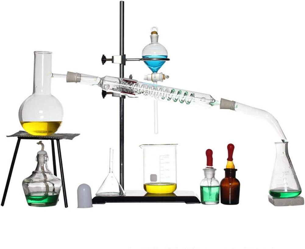 TTSUAI Aparato Profesional De Laboratorio Equipo De Laboratorio Químico Caja Ciencia Industrial Calentador De Vidrio ...