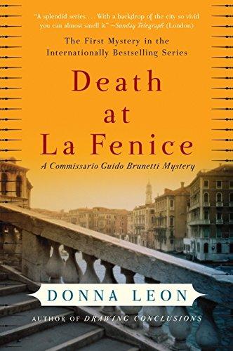 Download Death at La Fenice: A Commissario Guido Brunetti Mystery pdf