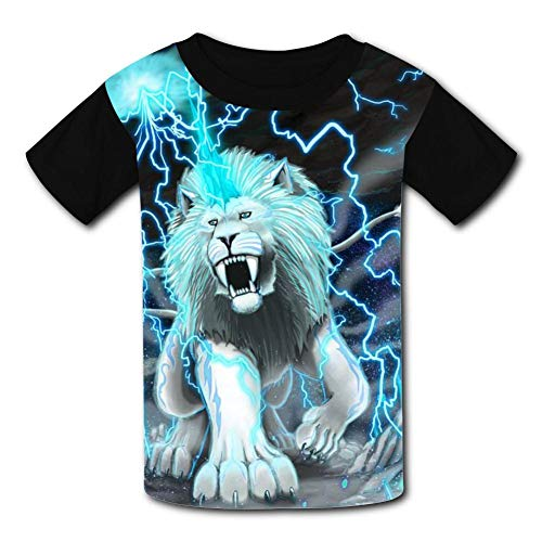 White Tiger Hot Weather Round Collar Short Sleeve Baby Tee Shirt Xs -