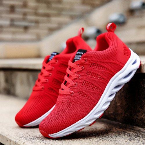SEECEE 35 Blau Rot Unisex Rot Atmungsaktiv EU 44 Laufschuhe Sportschuhe Schwarz Turnschuhe fpfxRwrq8