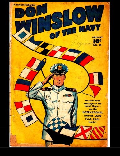 Don Winslow Of The Navy #53: Golden Age Adventure Comic 1948
