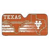 NCAA Texas Longhorns NCAA Universal Auto Shadencaa Universal Auto Shade, Orange, 28.25