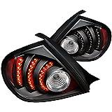 Spec-D Tuning LT-NEO03JMLED-DP Dodge Neon Srt4 R/T Black Led Tail Lights Depo