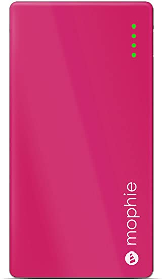 watch b5341 d9896 mophie Juice Pack Powerstation Mini Pink One Size