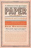 Paper, Ian Sansom, 0062241435