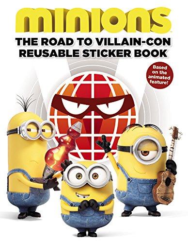 Minions: The Road to Villain-Con: Reusable Sticker Book