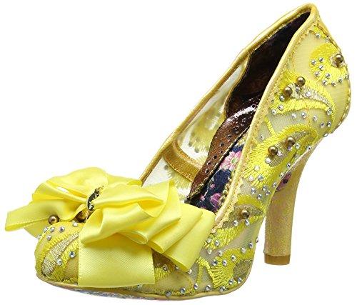 Irregular Choice Ascot - Tacones Mujer Amarillo (Yellow Multi)