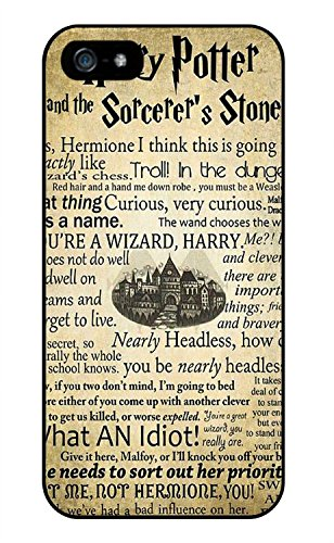 Color.Dream Harry Potter and the Sorcerer's Stone Hard Plastic Back Case Cover Phone Protective Case for iPhone 5C