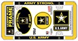 Stockdale U.S. Army License Plate Frame with 3 Decals
