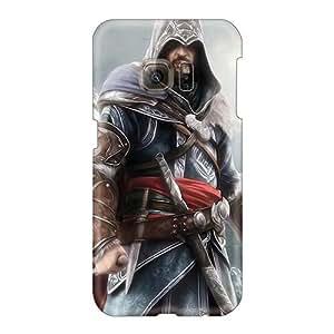 Samsung Galaxy S6 BlB15980ZQzn Custom High-definition Assassins Creed Iii Skin Bumper Hard Cell-phone Cases -RobAmarook