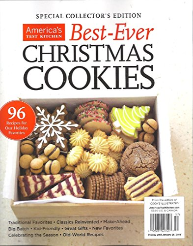 America S Test Kitchen Christmas Cookies