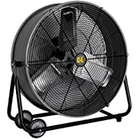 BE Pressure FD24 24 Drum Fan, 2 Speed