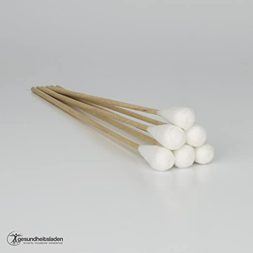 Bastoncillos de algodón con cabeza grande, 15 cm de largo, de ...