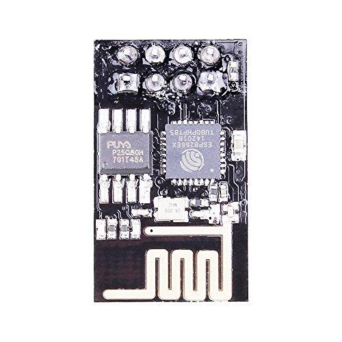 PEMENOL 4pcs ESP8266 Esp-01 Serial Wireless Wifi Module Send Receive Through Walls Transceiver Receiver Board for Arduino by PEMENOL (Image #2)