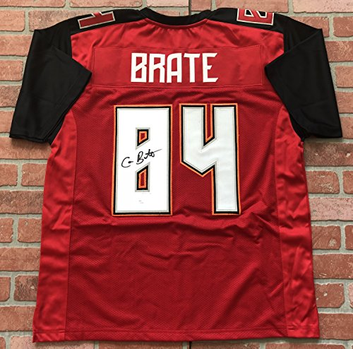 Cameron Brate autographed signed jersey NFL Tampa Bay Buccaneers JSA w/ - Shipping Paypal Return
